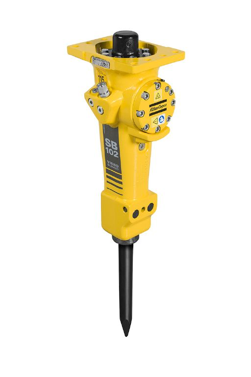 Rock Drill Sales | Atlas Copco Light Duty Hydraulic Breaker Excavator Attachments
