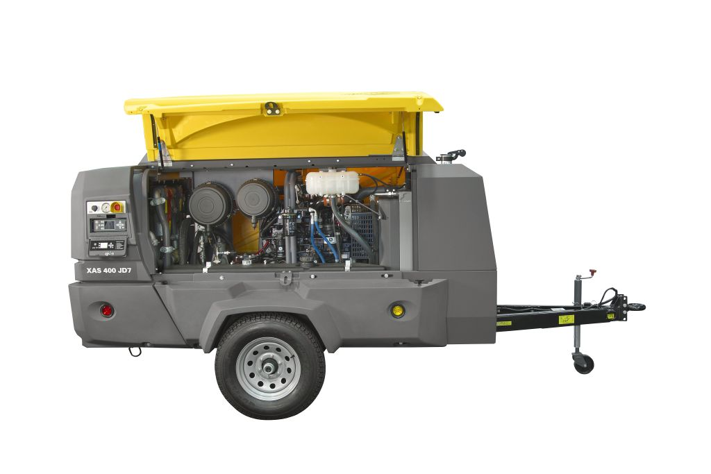 Mobile Air Compressor >> Atlas Copco Mobile Air Compressors Rock Drill Sales