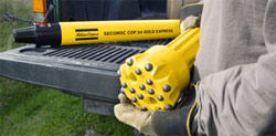 Atlas Copco down the hole drilling equipment at Rock Drill Sales and Service.