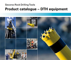 Atlas Copco down-the-hole drilling equipment at Rock Drill Sales.
