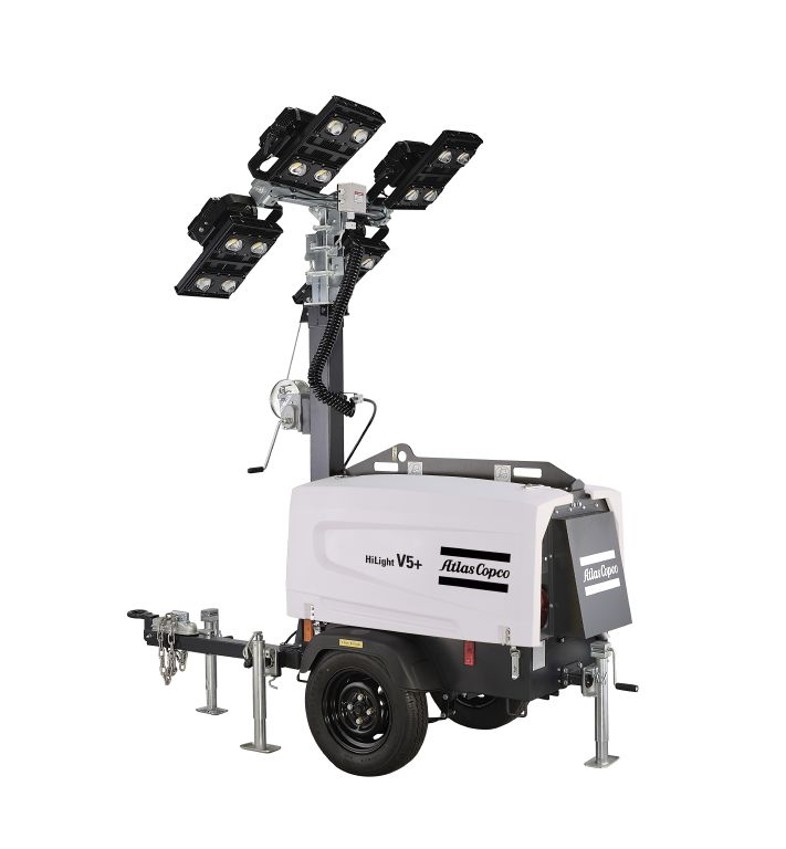 Rock Drill Sales: Atlas Copco Portable Light Towers