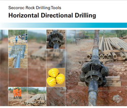 Atlas Copco horizontal directional drilling catalog.