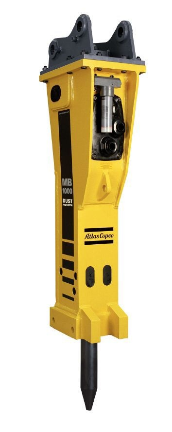 Rock Drill Sales | Atlas Copco Heavy Duty Hydraulic Breaker Excavator Attachments