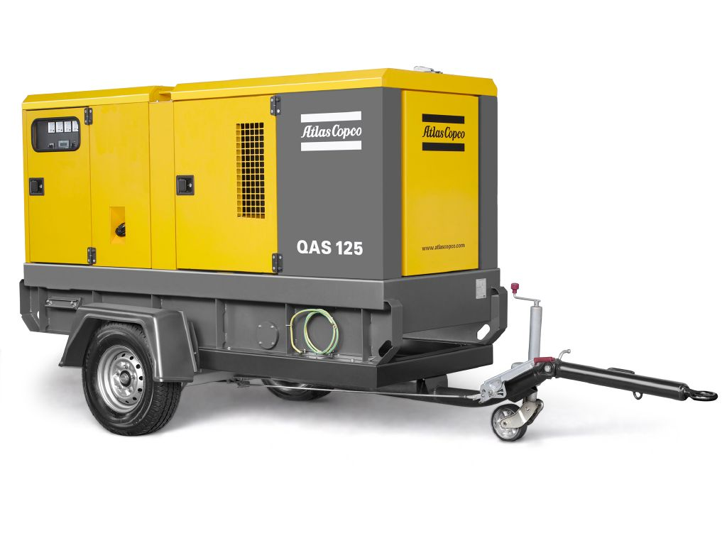Rock Drill Sales | Atlas Copco Generators | QAS70 JD, QAS90 JD and QAS120 JD