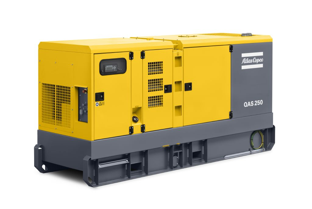 Rock Drill Sales | Atlas Copco Generators | QAS 150 and QAS 330