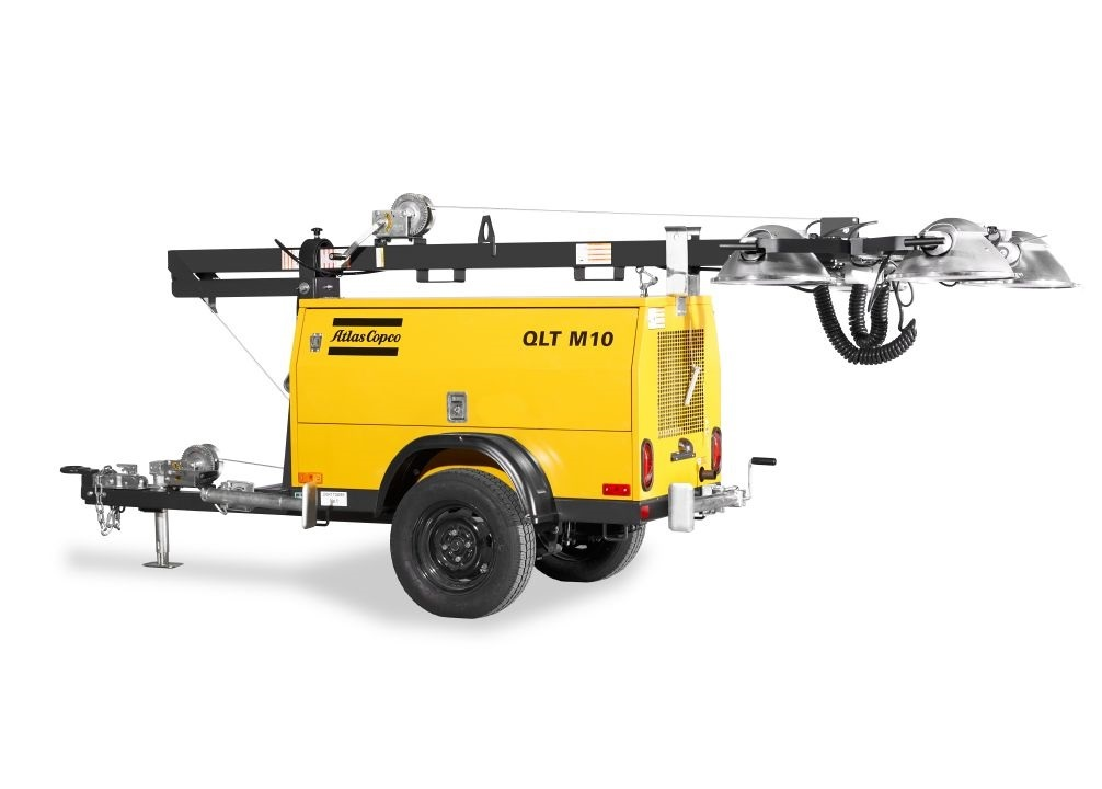 Rock Drill Sales | Parts and Service Kits for Atlas Copco Light Towers
