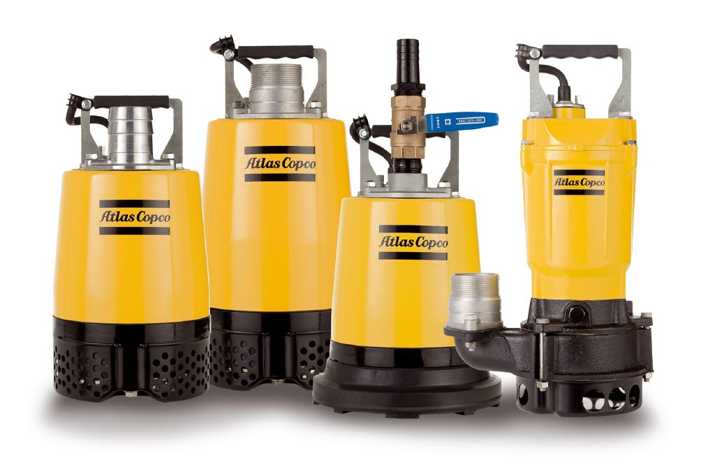 Rock Drill Sales | Parts and Service Kits for Atlas Copco Dewatering Pumps