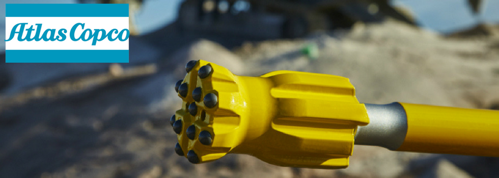 Rock Drill Sales: Atlas Copco Top Hammer Bits / Button Bits