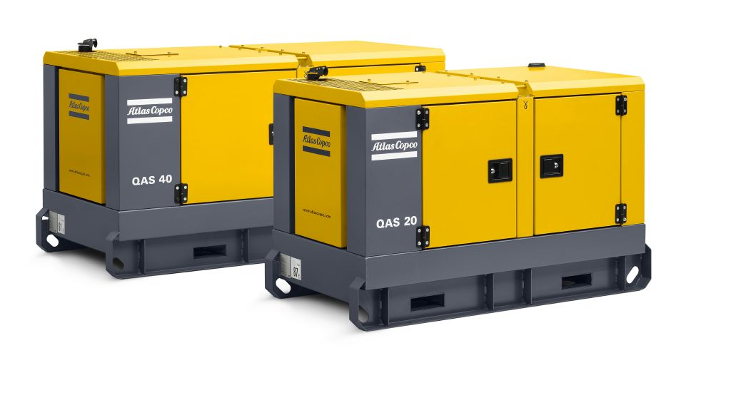 Rock Drill Sales | Atlas Copco Generators | QAS 25 and QAS 45