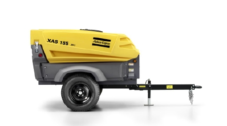 Atlas Copco Mobile Air Compressors | Rock Drill Sales