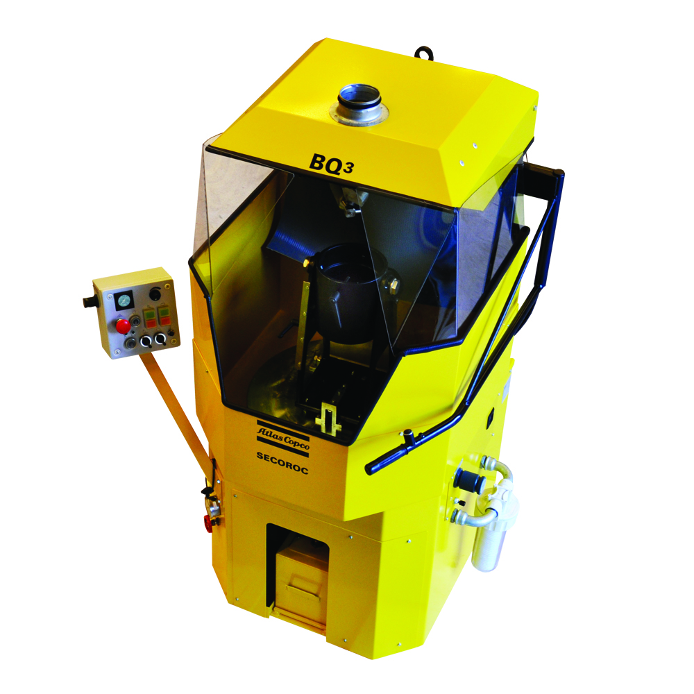 Atlas Copco BQ3-DTH Bit Grinder | Rock Drill Sales